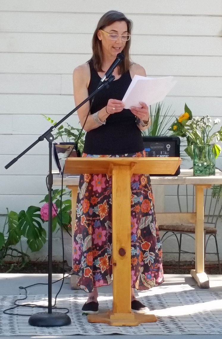 Friday Gretchen Lubina, Poet