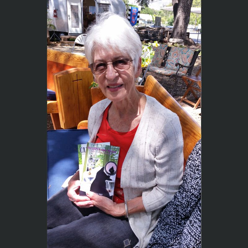Patricia Fry, author of the Klepto Cat Mystery Series (fiction) and numerous other non-fiction titles